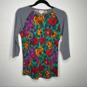 🦋3/$15 NWT Lularoe Floral Randy Top Size XS